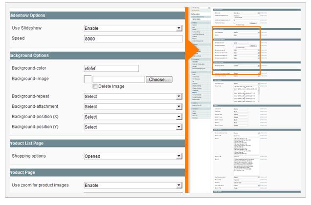 Admin Panel DecoStore icon