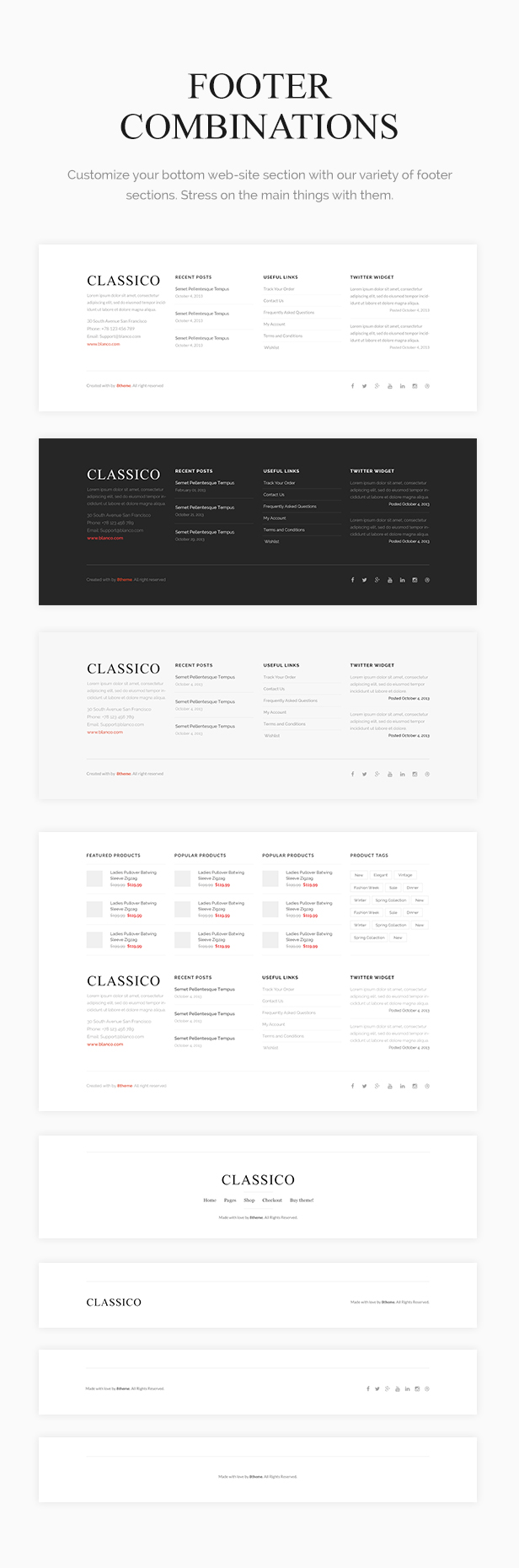 Classico - Responsive WooCommerce WordPress Theme