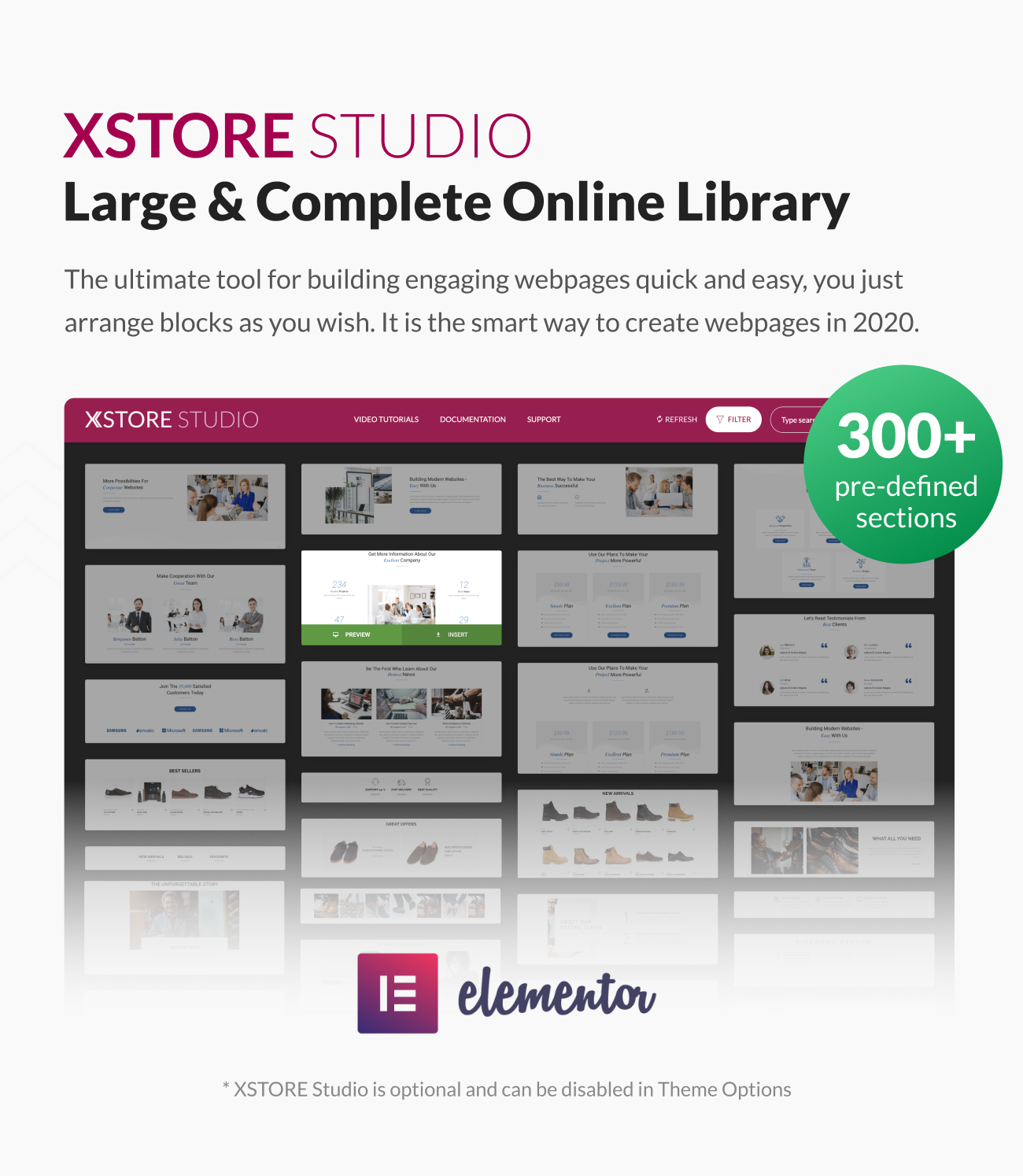 Xstore WooCommerce WordPress - Elementor