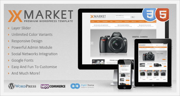 XMarket WordPress Theme