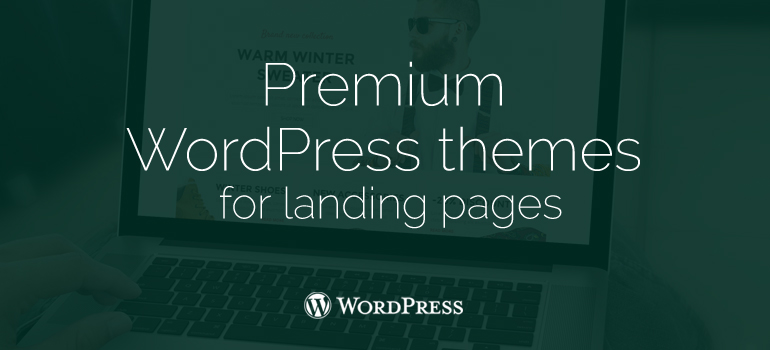 8Theme offers design trends in premium WordPress themes for landing pages