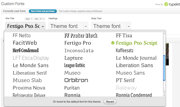 How to Add Custom Fonts in Templates for WordPress