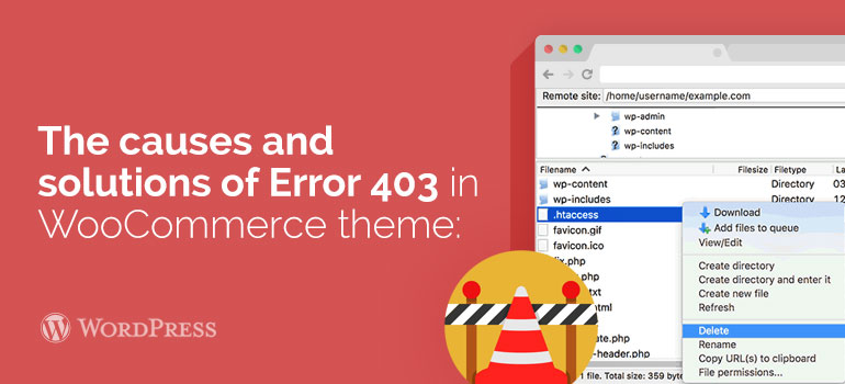 How to Fix the 403 Forbidden Error in WordPress