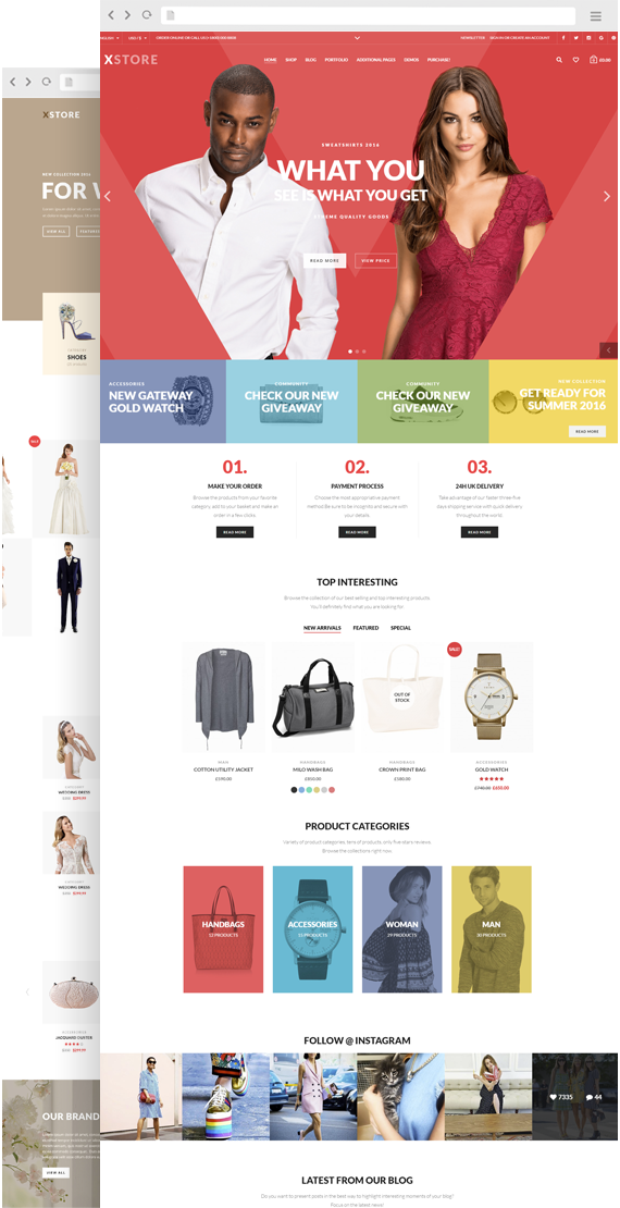 XStore - Responsive WooCommerce WordPress Theme from 8theme